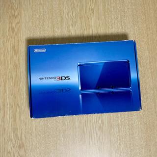 ニンテンドー3DS - 【動作確認済】Nintendo 3DS 本体 コバルトブルー