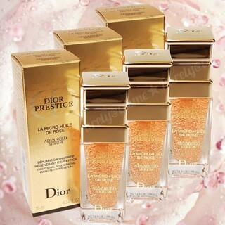 Dior - ディオール プレステージ マイクロ ユイル ド ローズ セラム 美容液 30ml