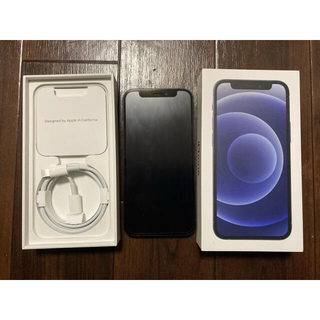 iPhone - アップル iPhone12 mini 128GB ブラック