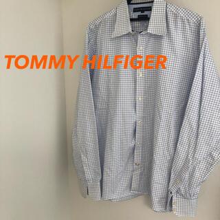 TOMMY HILFIGER - TOMMY HILFIGER  premium チェックシャツ メンズLサイズ