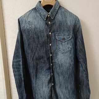 ディースクエアード(DSQUARED2)の定価7万円 Dsquared2 ディースクエアード デニムシャツ 44(シャツ)