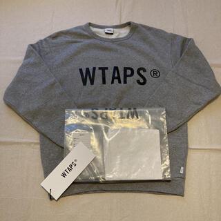 ダブルタップス(W)taps)の新品未使用 20AW WTAPS WTVUA クルーネック L グレー(スウェット)