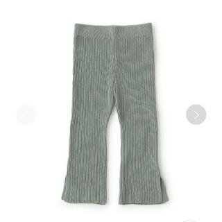 petit main - 新品 プティマイン ニットフレアパンツ 110センチ