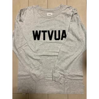 ダブルタップス(W)taps)のwtaps ロゴ ロンT グレー(Tシャツ/カットソー(七分/長袖))