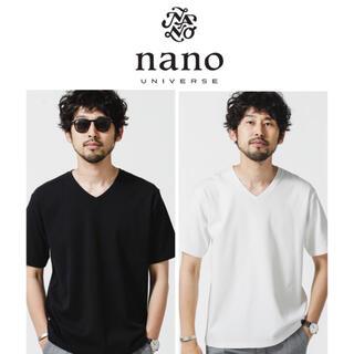 nano・universe - 【新品未使用・2枚セット】Anti Smell VネックTシャツ 半袖