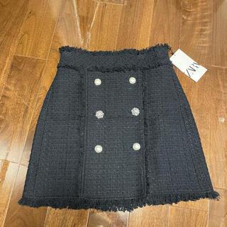 ZARA - 新品 ZARA ザラ ツイード素材 スカート
