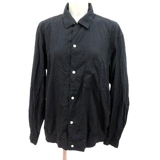 ビームス(BEAMS)のビームス BEAMS シャツ ブラウス 長袖 M 黒 ブラック /RT(シャツ/ブラウス(長袖/七分))
