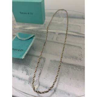 Tiffany & Co. - ヴィンテージティファニー TIFFANY コンビ ロープ ロング ネックレス