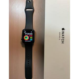 Apple Watch - 美品Apple Watch Series 3 42mm