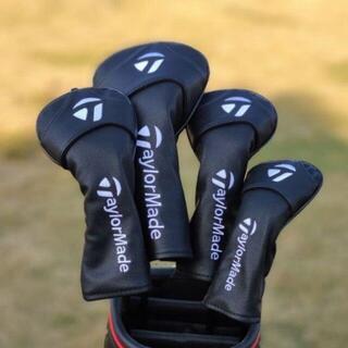 新品 ゴルフひまわり スマイリー ヘッドカバー4点セット