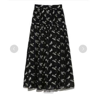 スナイデル(snidel)の[SNIDEL]ジャガードボリュームスカート(ひざ丈スカート)
