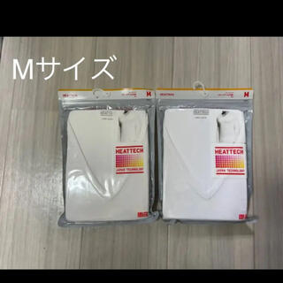 UNIQLO - ユニクロ ヒートテックVネックT(九分袖)