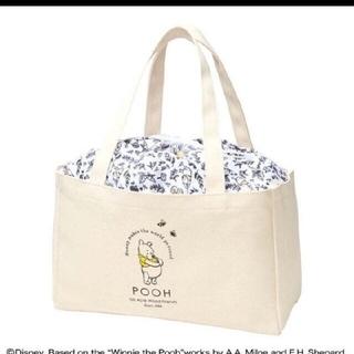 くまのプーさん - steady付録くまのプーさんデザイン巾着付き収納バッグ