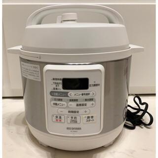 アイリスオーヤマ - 【訳あり】アイリスオーヤマ圧力鍋 PC-EMA3-W