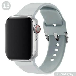 Apple Watch ソフト バンド 38/40mm アイスグレー