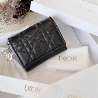 Dior - 新品 ディオール コンパクト ウォレット 財布 ミニウォレット ladydior