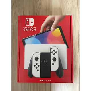 Nintendo Switch - 新型Nintendo Switch 有機ELモデル(白)新品