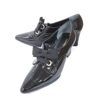 ストロベリーフィールズ(STRAWBERRY-FIELDS)のストロベリーフィールズ STRAWBERRY-FIELDS パンプス エナメル(ブーツ)