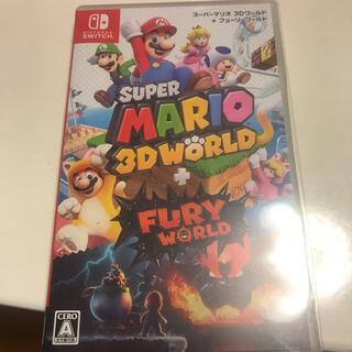 Nintendo Switch - 任天堂 switch  スーパーマリオ 3Dワールド + フューリーワールド