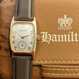 Hamilton - Hamilton ボルトン 電池・ベルト新品 レディース腕時計