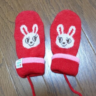 ミキハウス(mikihouse)のミキハウス MIKlHOUSE 手袋 ミトン グローブ M(手袋)