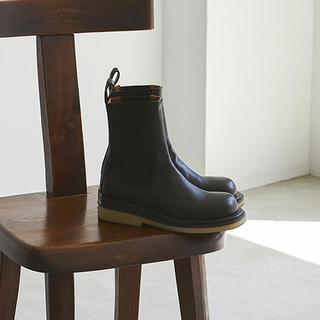 トゥデイフル(TODAYFUL)のLeather Middle Boots(ブーツ)