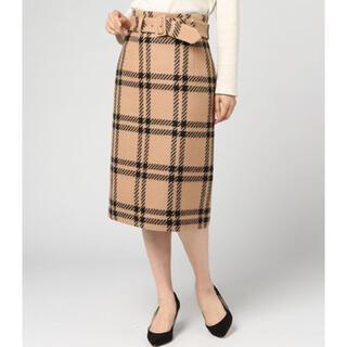 ストロベリーフィールズ(STRAWBERRY-FIELDS)の《美品》ストロベリーフィールズ♡ヴィンテージチェックスカート size2(ひざ丈スカート)