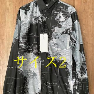 sacai - 新品 定価以下 sacai world map shirts