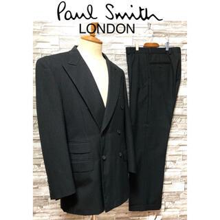 【美品】ポールスミス Paul Smith スーツ セットアップ ウール レトロ