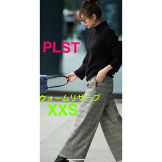 PLST - PLST★ウォームリザーブツイルワイドパンツ★人気XXS