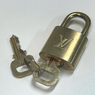 LOUIS VUITTON - ルイヴィトン パドロック キー  南京錠&鍵2個 セット ゴールド