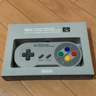 ウィー(Wii)のWiiコントローラー非売品 スーパーファミコン(家庭用ゲーム機本体)