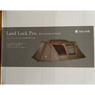 Snow Peak - 新品未開封 スノーピーク ランドロック Pro RED FRAME プロ 雪峰祭