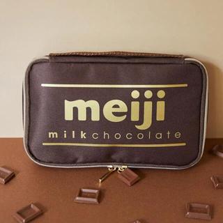 明治ミルクチョコレート マルチポーチ