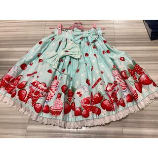 Angelic Pretty - Angelic Pretty Milky Berry SK セット