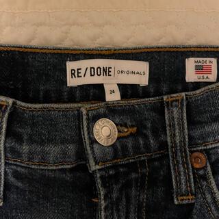 Ron Herman - redone フレアデニム 24 ロンハーマンで購入