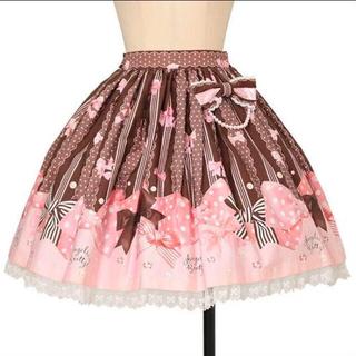 Angelic Pretty - ジュエルリボン スカート アンプリ プリティ ロリィタ ジャンパースカート