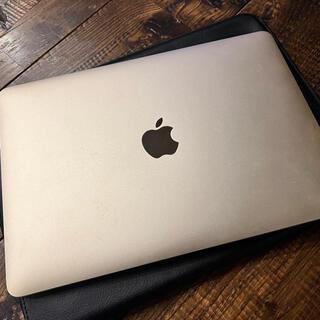 Apple - MacBook(RetinaEarly) Gold 美品