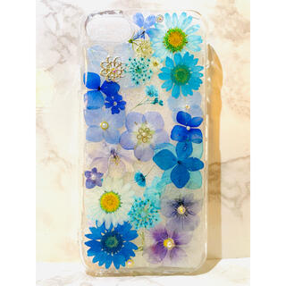 iPhoneケース、iPhoneカバー、押し花ケース、スマホケース、押しフルーツ(モバイルケース/カバー)