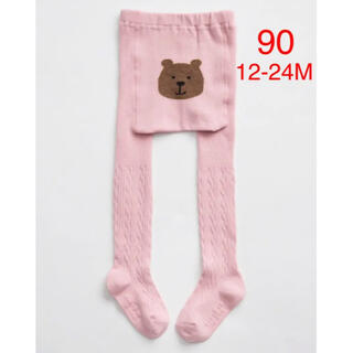 ベビーギャップ(babyGAP)の【新品】babygap くまさんタイツ 90(靴下/タイツ)