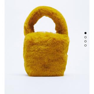 ZARA - ZARA/ザラ♡今期大人気!フェイクファー巾着型バッグ