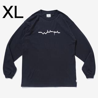 ダブルタップス(W)taps)の21AW WTAPS VIBES SCREEN L/S TEE 黒 XL(Tシャツ/カットソー(七分/長袖))