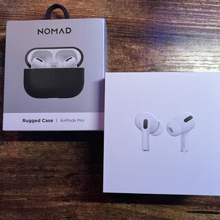 Apple - 【中古】正規品 Airpods Pro Nomad ケースセット