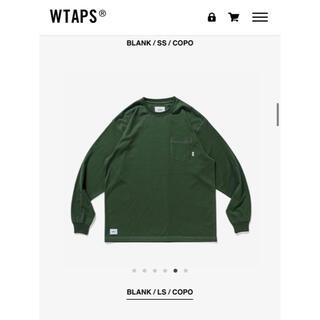 ダブルタップス(W)taps)のwtaps Blank copo Sサイズ 完売 green(Tシャツ/カットソー(七分/長袖))