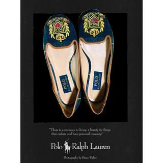 ポロラルフローレン(POLO RALPH LAUREN)のPOLO・Ralph Lauren ラルフローレン フラット バレエ シューズ(バレエシューズ)