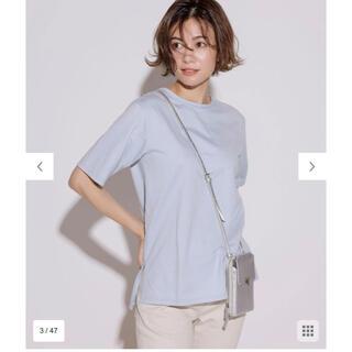 23区 - 【新品未使用】コットンジャージー 5分袖 Tシャツ