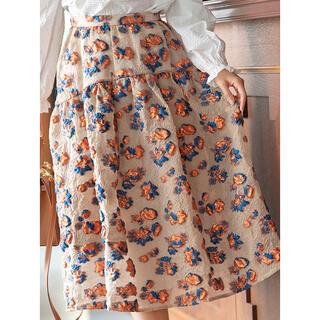 Chesty - THE HANY×Chesty フラワージャガードスカート