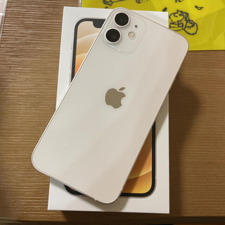 Apple - iPhone12mini 128GB simフリー ホワイト 新品未使用