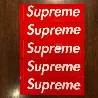Supreme -  Supreme Box Logo Sticker ステッカー5枚