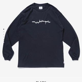 ダブルタップス(W)taps)のWTAPS VIBES ロンT 黒色 サイズM (Tシャツ/カットソー(七分/長袖))